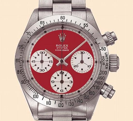 The Five Most Expensive Rolex Watches Ever To Be Sold