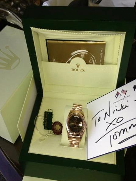 Nicki Minaj Rolex Watch