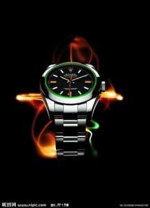 Rolex Milgauss Fire