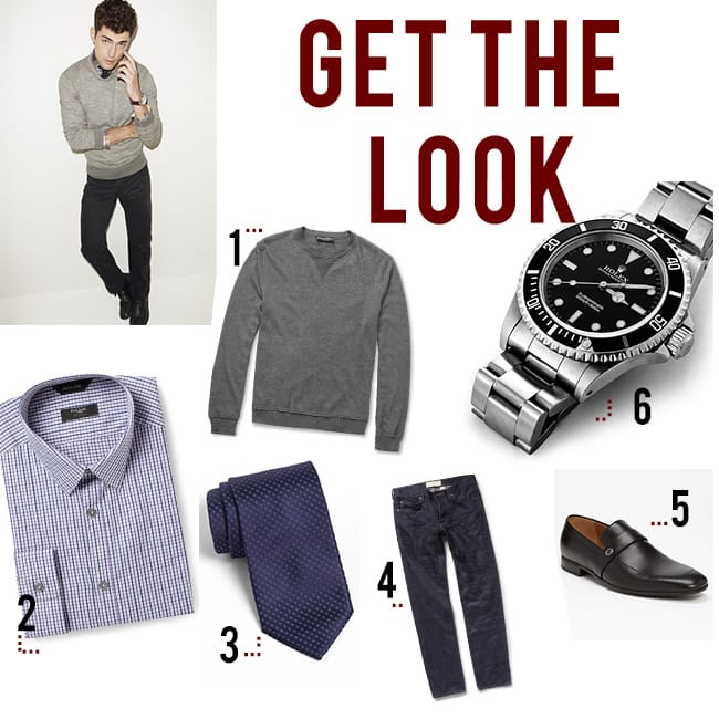 rolex mens fashion get the look casual friday