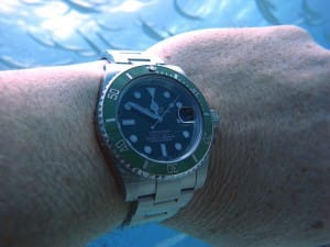 rolex oyster perpetual submariner underwater