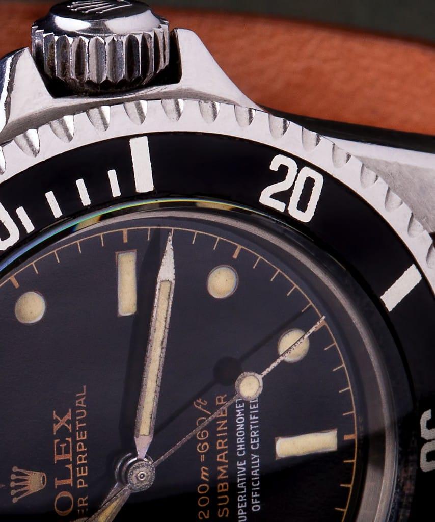 1962 rolex submariner 5512 dial
