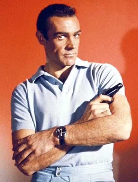 Dr No and his Rolex Submariner
