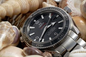 The Omega Seamaster is a watch that is very similar to the Rolex Submariner.