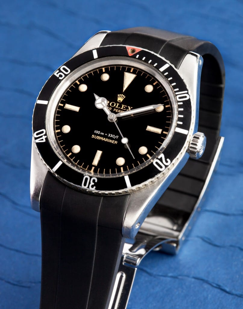 Vintage Submariner with Black Strap