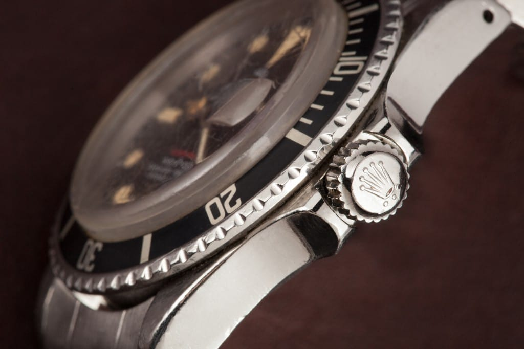 vintage red rolex submariner bezel