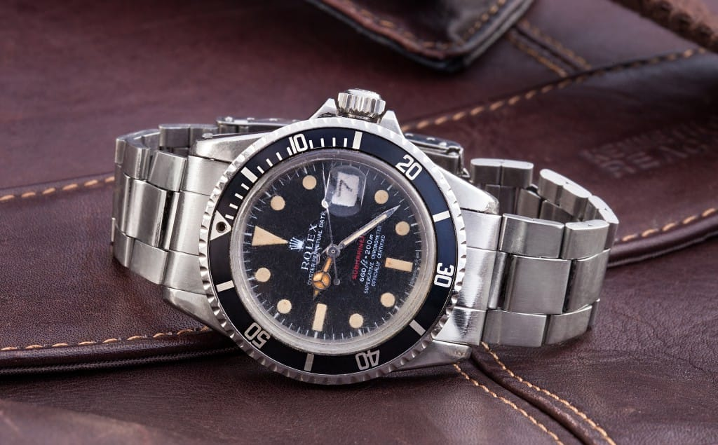 vintage rolex submariner 1680 from Bob's Watches.