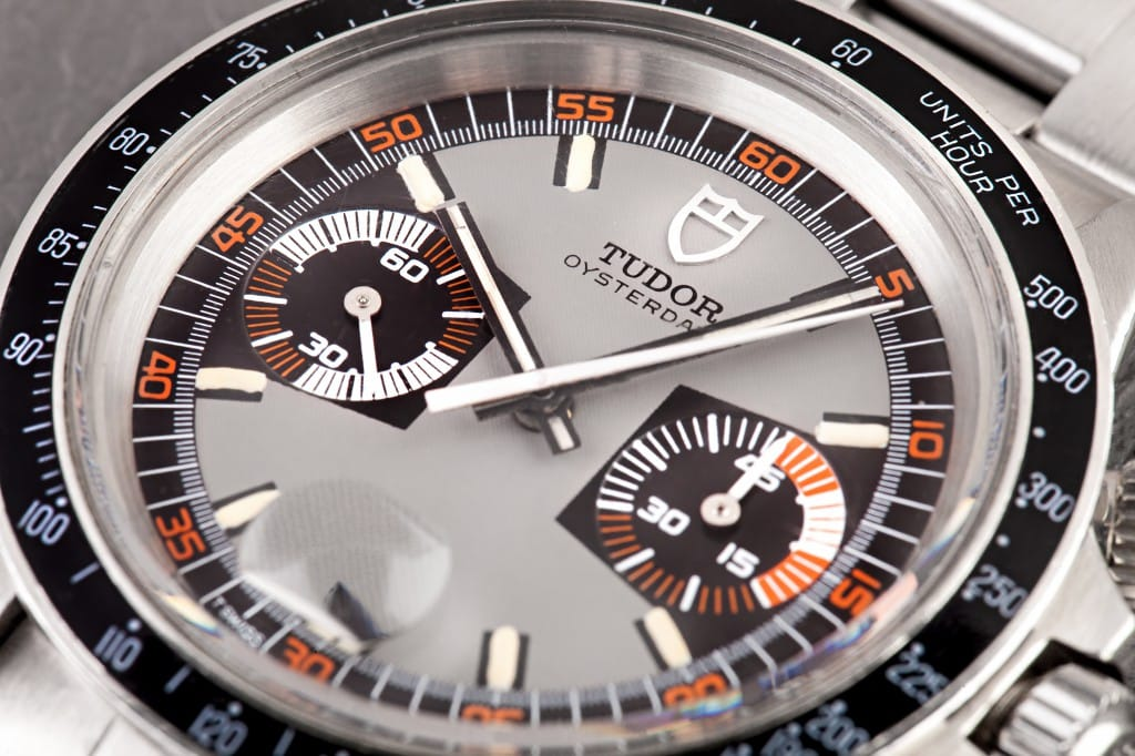 Tudor Chrono Watch Dial