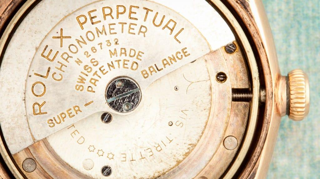 Inside Look Rolex Perpetual Movement