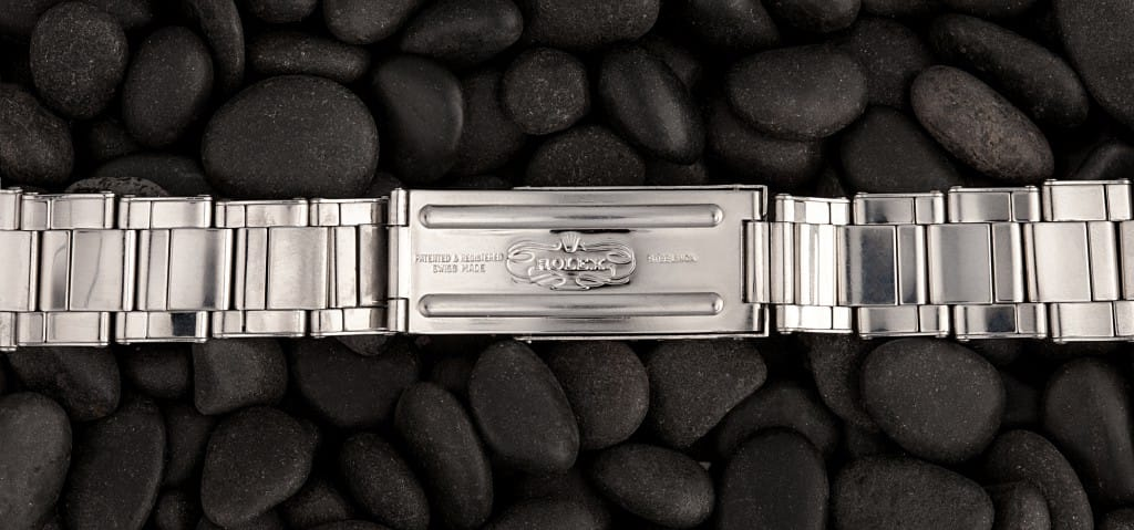 A vintage tudor clasp bracelet at Bob's Watches.