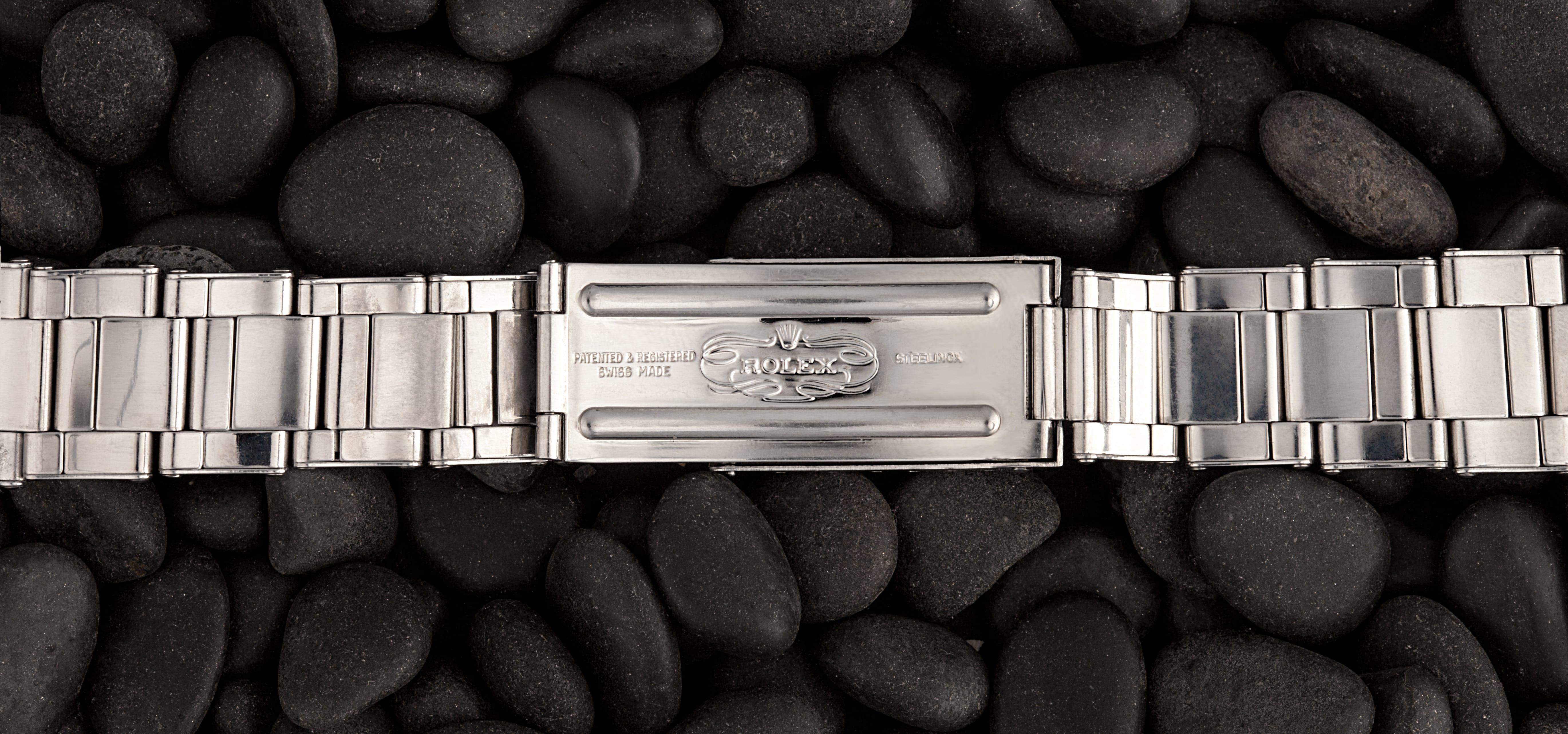 Rolex Oyster Bracelet Rivet Clasp Markings