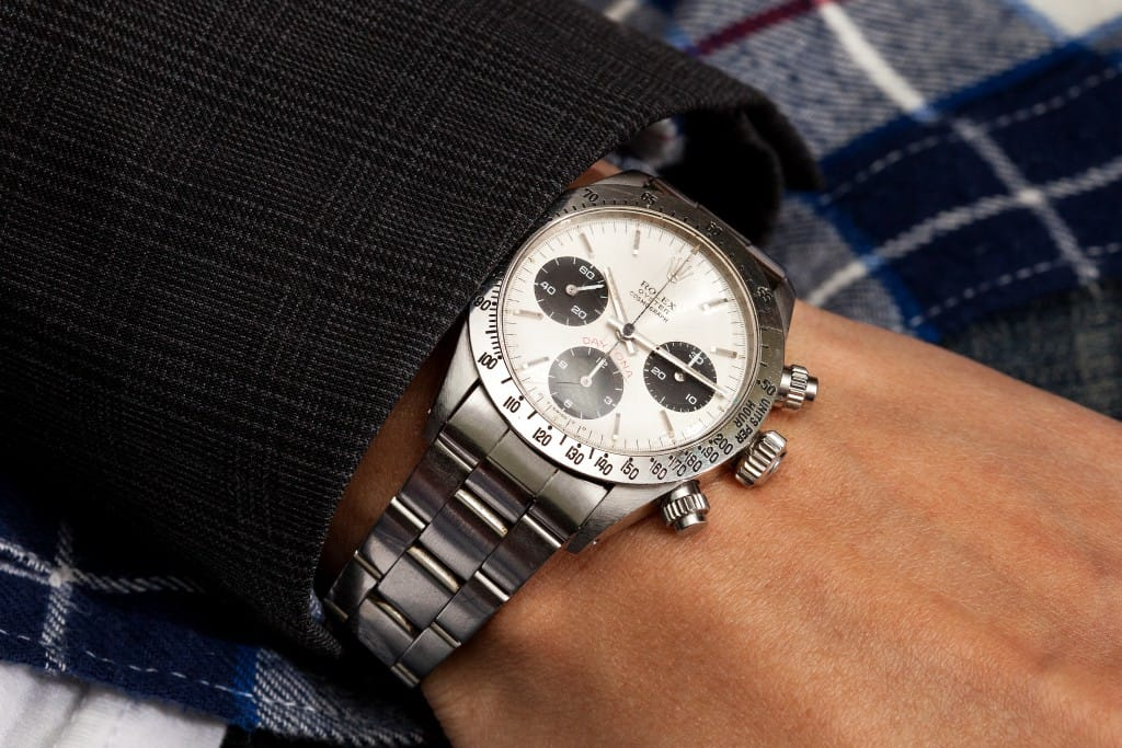 The Sigma Dial on the reference 6265 Rolex Daytona is a highly sought after collectors item