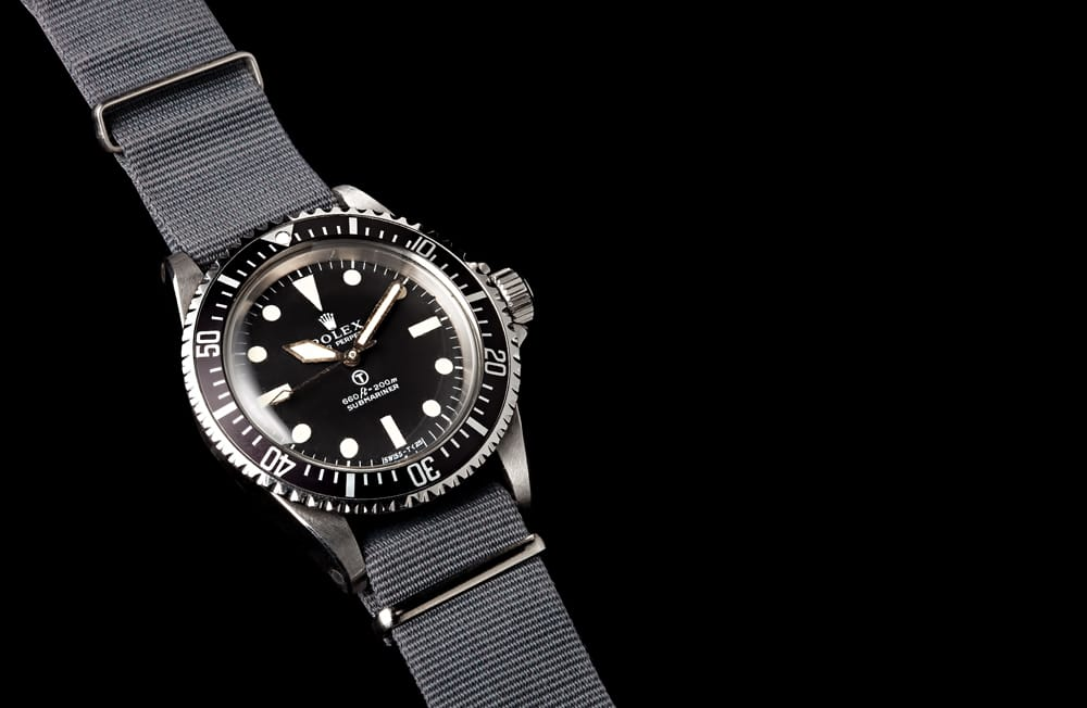 submariner 5513 with strap bob's watches.