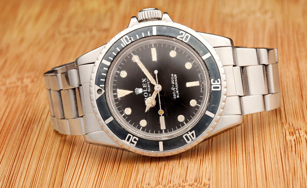 The Submariner 5513 is a beautiful watch