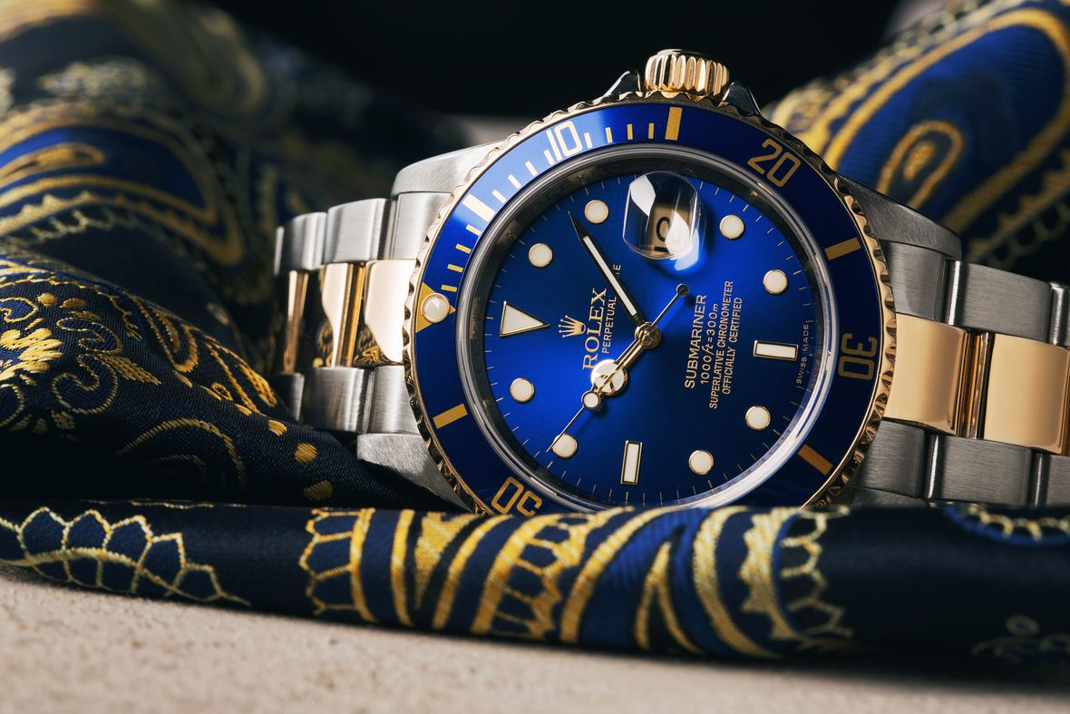 Rolex 16613 Submariner Two-Tone Stainless Steel Gold Yellow Rolesor