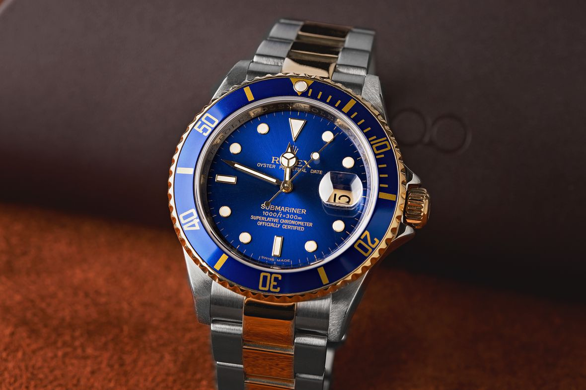 Rolex 16613 Submariner Two-Tone Steel and Gold