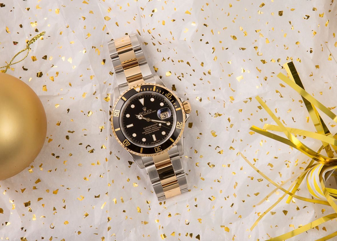 Rolex 16613 Submariner Two-Tone Steel yellow Gold