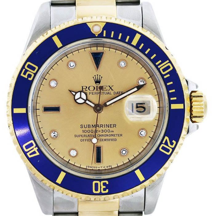 submariner 16613 serti dial - Bob's Watches