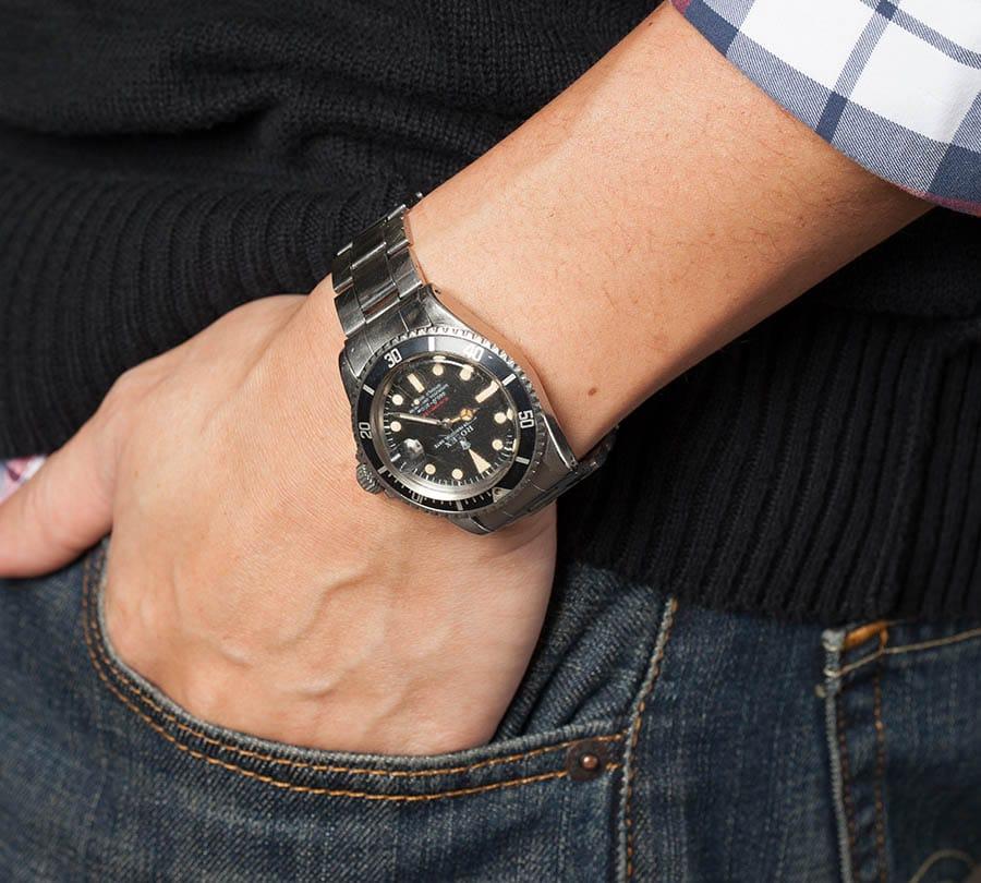 Red Submariner Watch