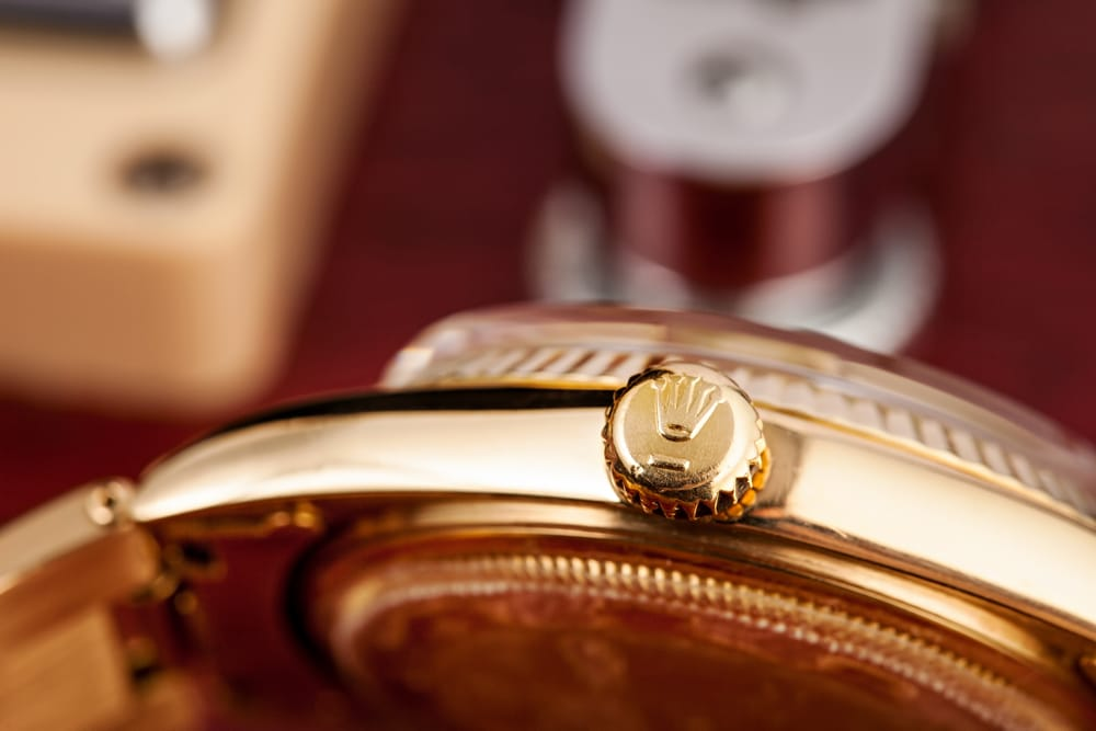 vintage rolex president 1803 gibson guitar