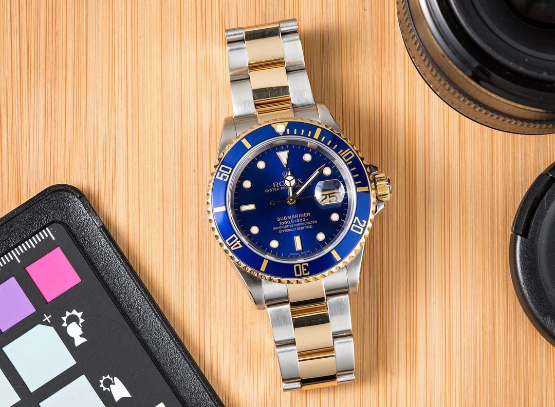 A Submariner 16613 is a common watch in any collectors collection.
