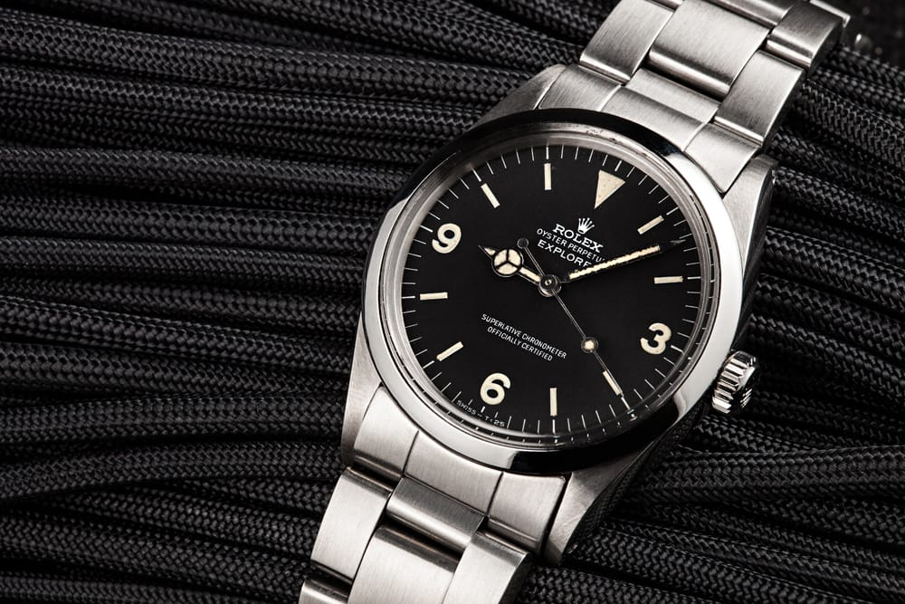 A Rolex Explorer 1016 with an Interesting Story of Military Use