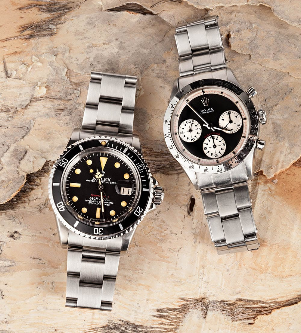 rolex submariner daytona watches