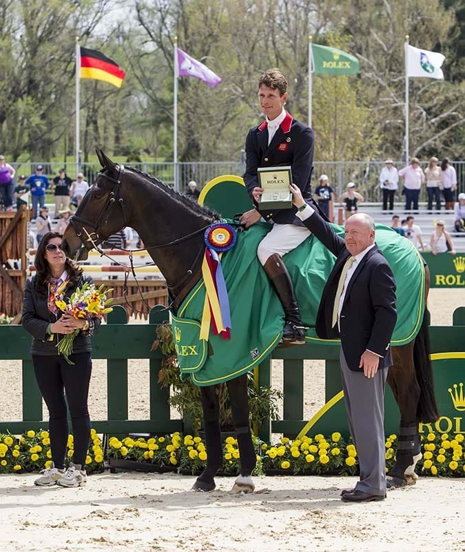 William Fox-Pitt Claims the Rolex Kentucky Title