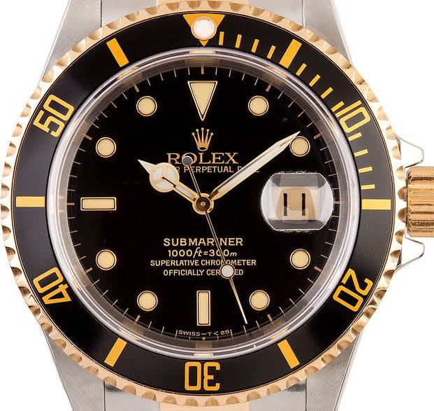 A two town Submariner is one of our Hottest Rolex Watches.