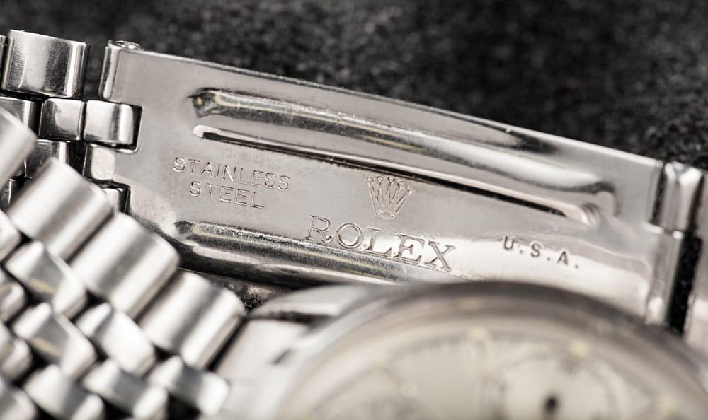 Inside Clasp Rolex Chronograph 6234