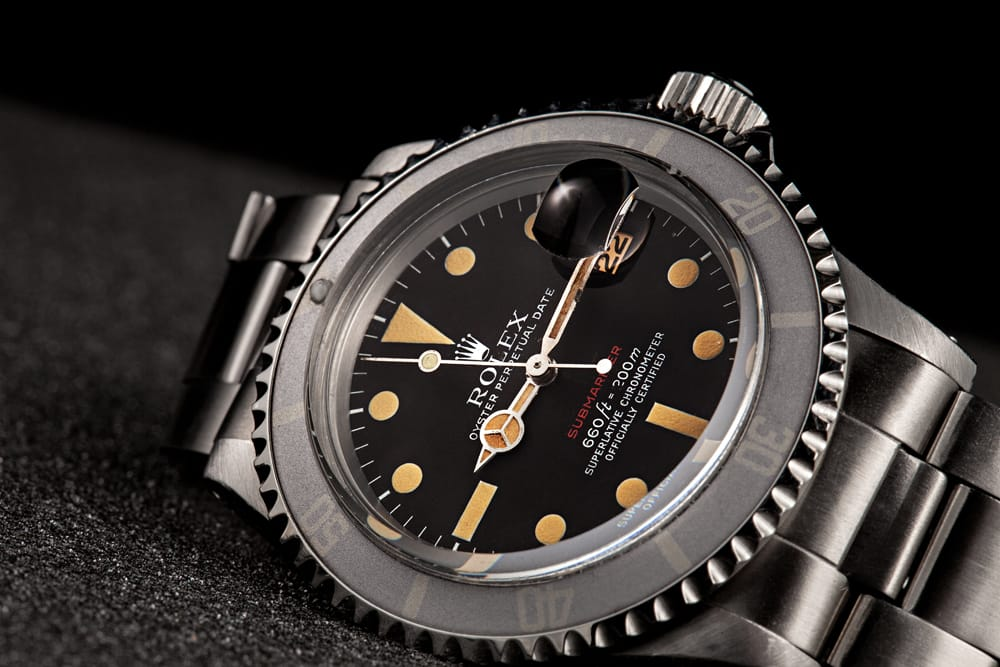 Stainless Steel Rolex Submariner 1680 - Bob's Watches