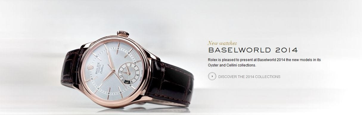 Basel World 2014 Cellini Collection