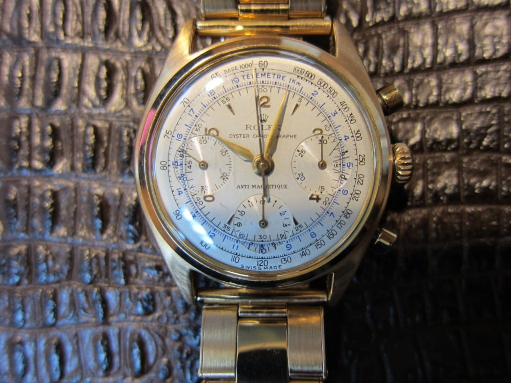Pre-Daytona Rolex from the collection of Eric Clapton