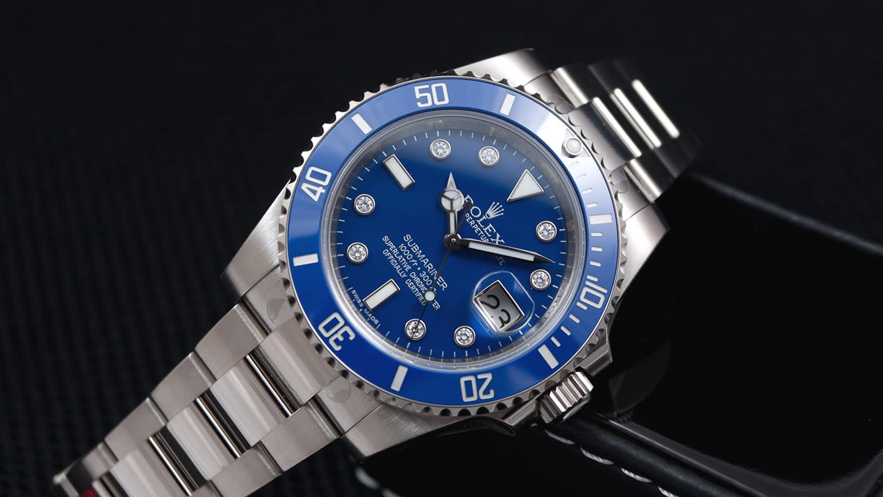 Rolex Submariner 116619 – Timeless Classic in Blue and White Gold