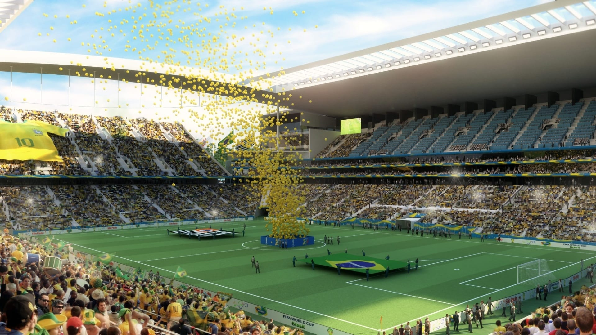 2014 Football/Soccer World Cup Arena