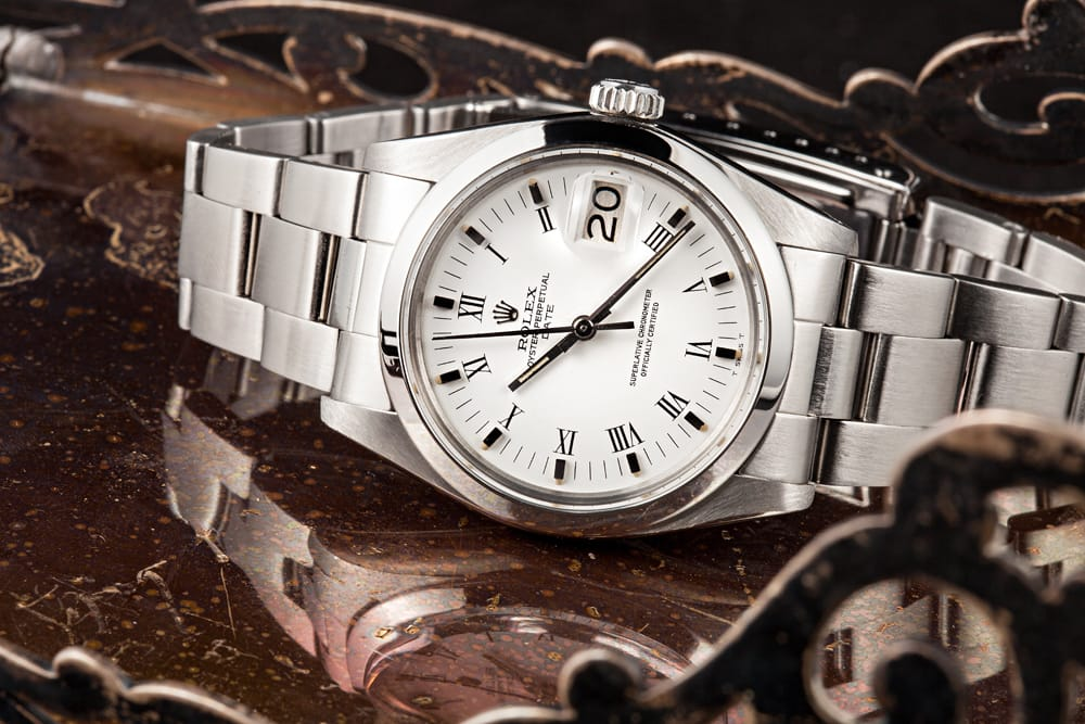 Vintage Datejust White Dial - Bob's Watches