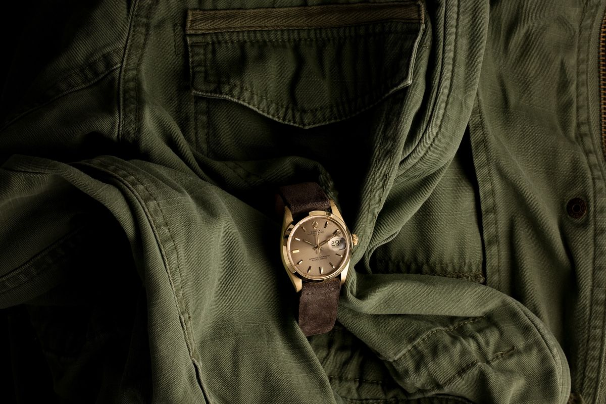 Vintage Rolex 1500 Oyster Perpetual Date