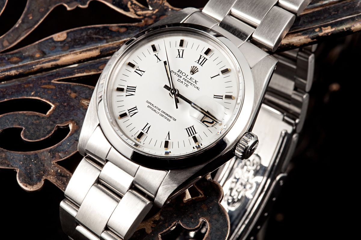 Rolex Date Oyster Perpetual Stainless Steel
