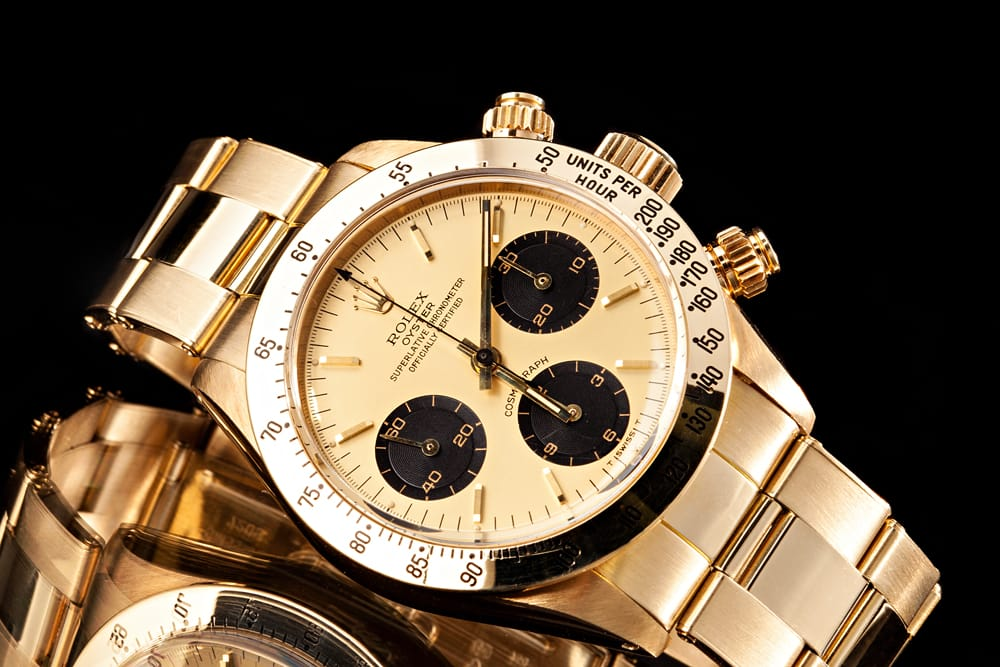 Gold Daytona Black Sub-Dials Reference 6265
