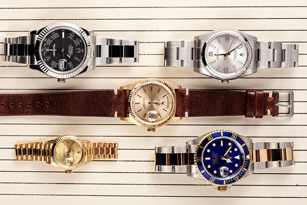 Rolex Wristwatch Collection