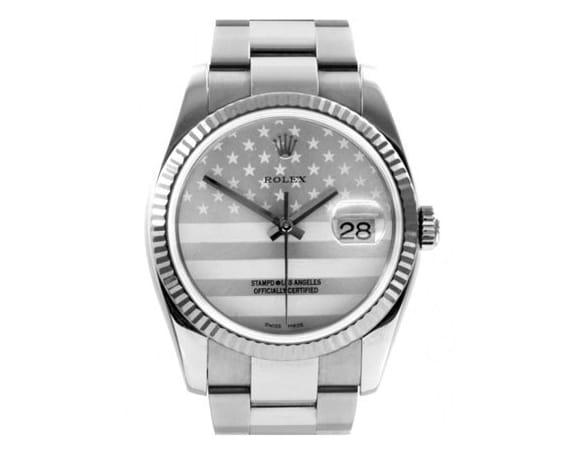 Stampd Swisssignatures Rolex Oyster Perpetual Datejust Watch
