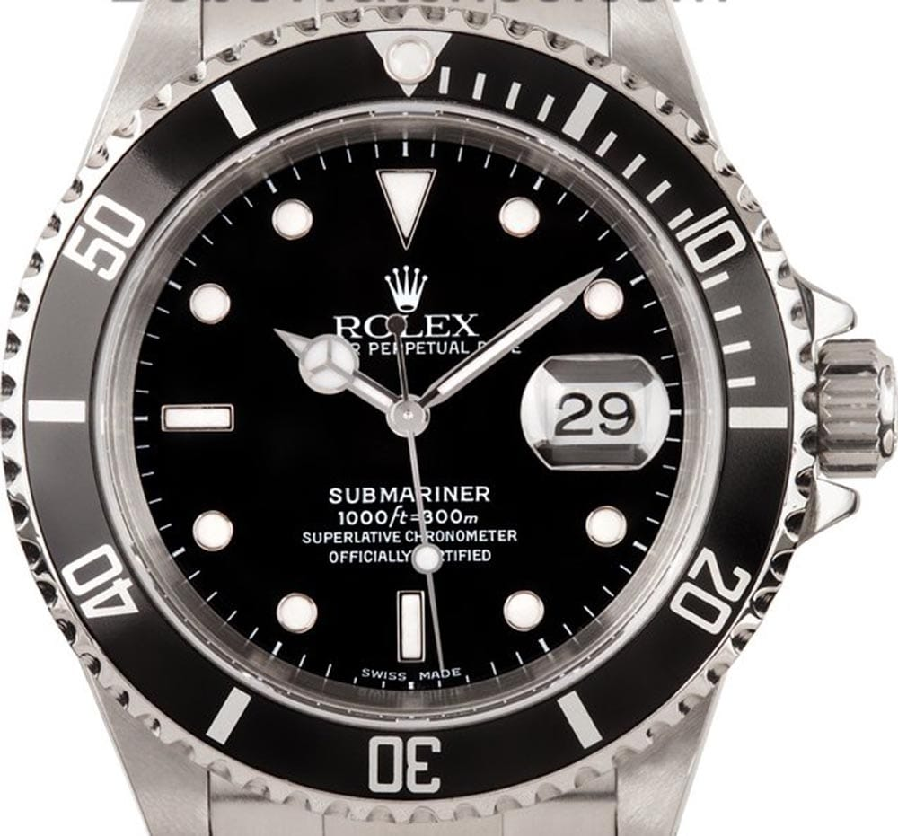the timeless stainless steel rolex submariner reference 16610. Black Bedroom Furniture Sets. Home Design Ideas