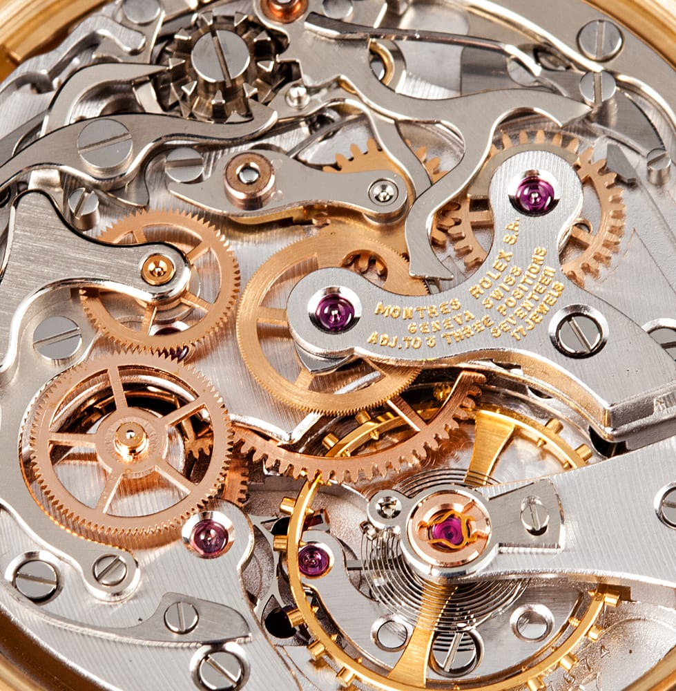 Vintage Gold Daytona 6265 Movement