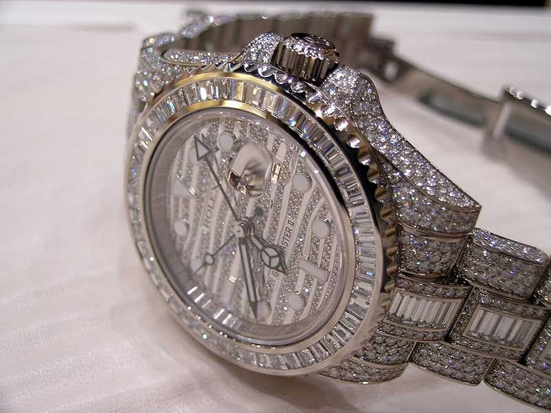 watch aeromarine wtch black diamond mother pearl ladies custom mop breitling of colt ct