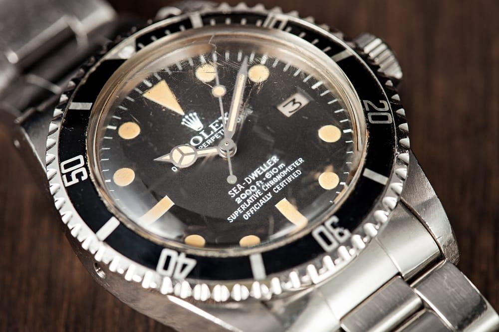 Bezel & Dial Rolex Sea Dweller