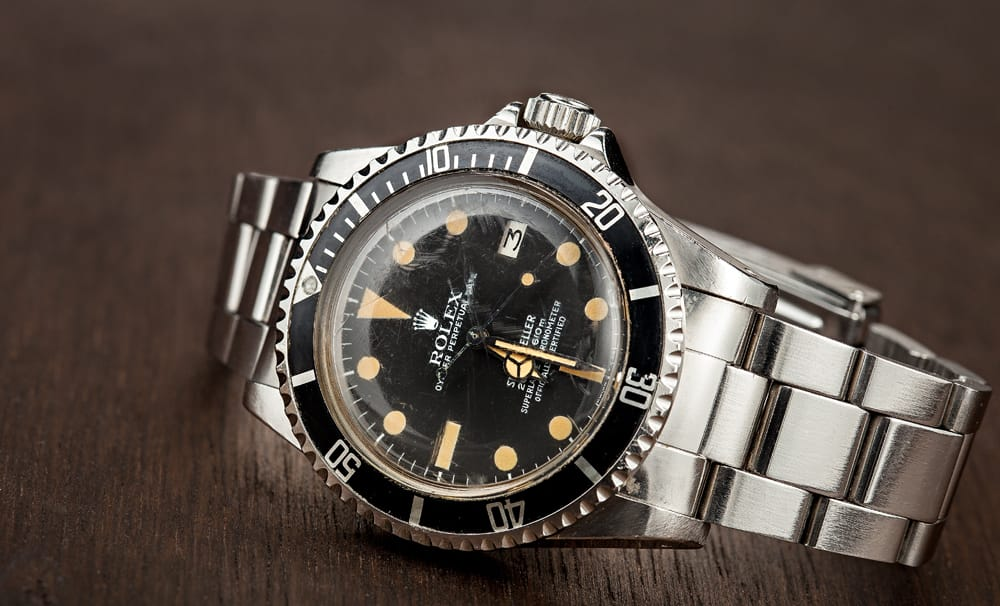 Rolex Sea-Dweller helium escape valve