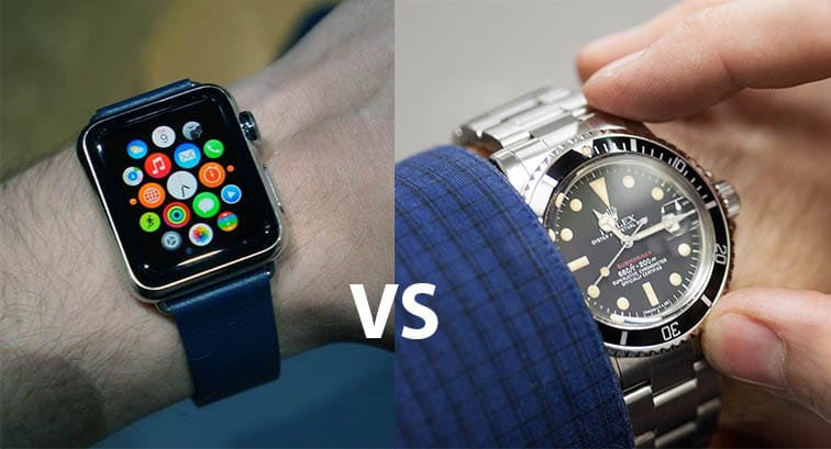 iPhone vs Rolex