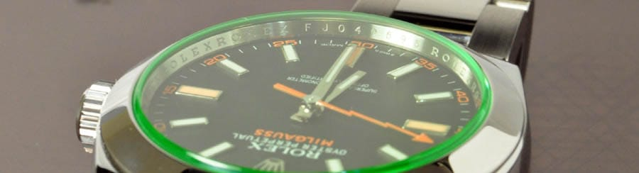 Serial Numbers on Rim Rolex Milgauss