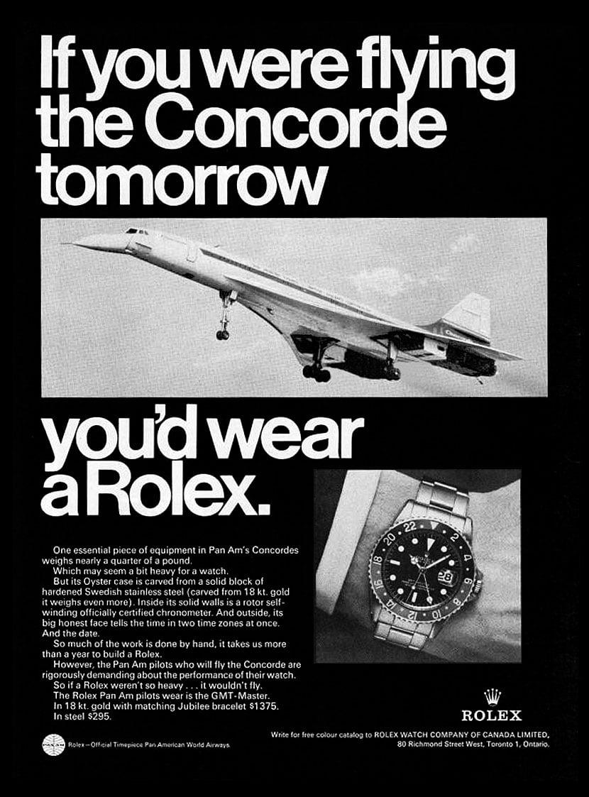 1969 Rolex GMT Master Concorde