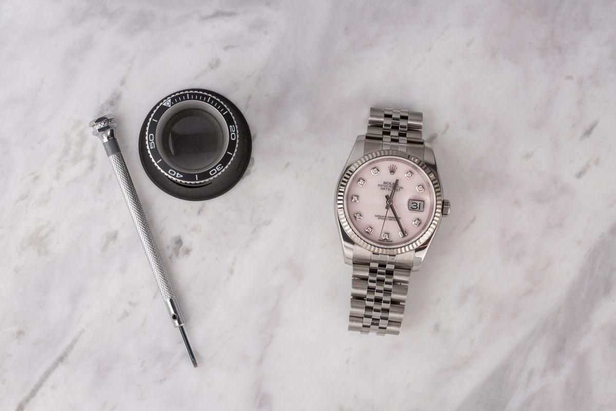 Diamond Rolex Datejust 116234